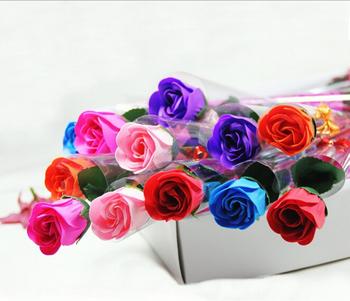 wholesale all kinds of scented rose designs bath rose shape soap