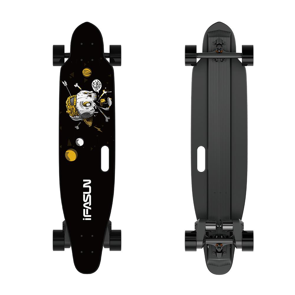 Top Quality 2000W 45KMH Belt Motor Elektro Electric Skateboard Longboard