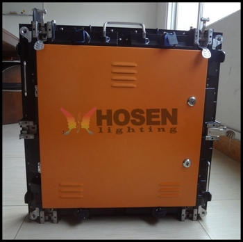 P6 Die-cast aluminum rental led display