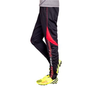 Wholesale orders high quality tracksuit bottoms dry fit polyester elastic soccer training pants