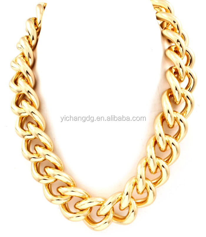 Fashion Dubai New Gold Chain Design For Men 18k Gold Chunky Chain ...