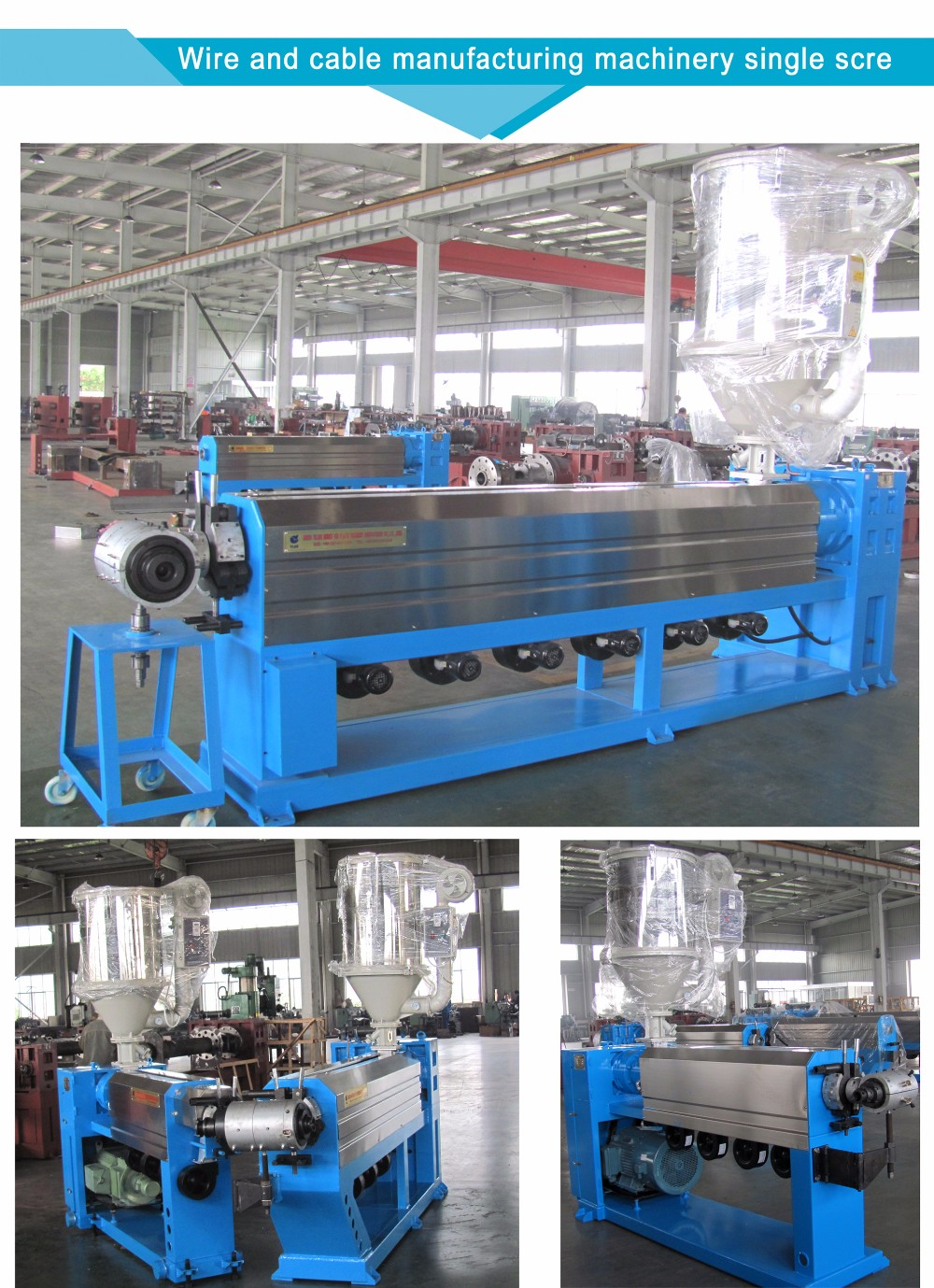 Copper Wire Extrusion Machines/ Cable Making Machine/ Electrical ...