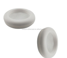 custom white silicone rubber grommet