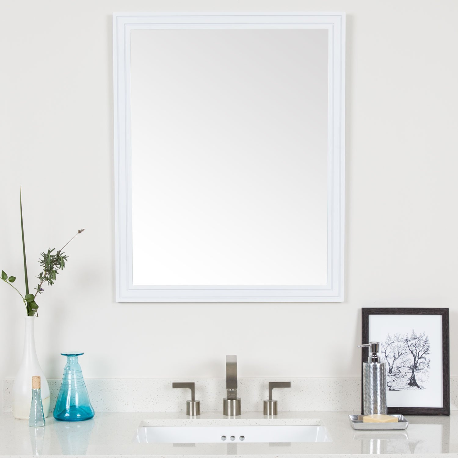 Cheap White Framed Mirrors, find White Framed Mirrors deals on line ...