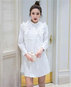 wholesale snow white dress women sexy long sleeve white dress