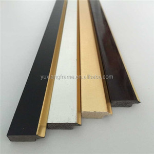 Jinhua China multiple colorful ps picture frame moulding/profile/stick/ Baguette/strips
