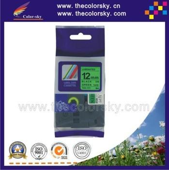 Wholesale (TZe-731) 2pcs BLACK ON GREEN label tape cartridge for ...