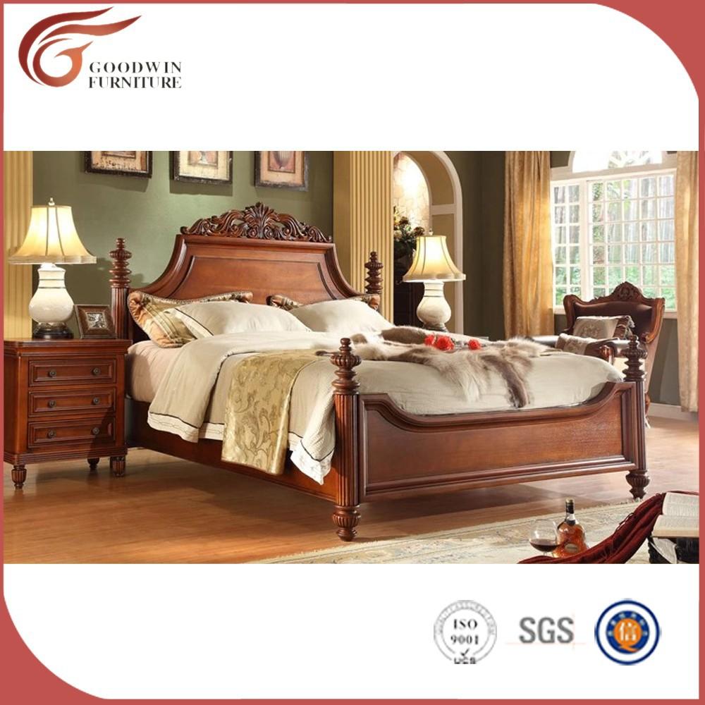 Hecho En China Lujo Moderno Juego De Dormitorio Cl Sico A54  # Muebles Juegos De Alcoba