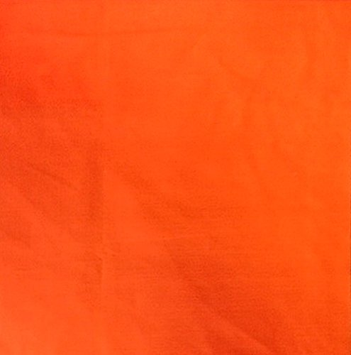 "Cotton Polyester Broadcloth Fabric Premium Apparel Quilting 45"" (1 YARD, Orange)"