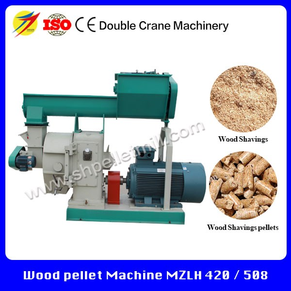 Palm coconut fibre pellet mill machine for wood biomass energy plant