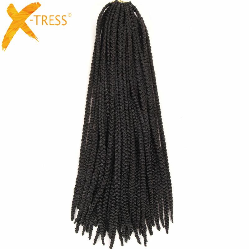 Al por mayor caja de la trenza del pelo extensiones de cabello de ...