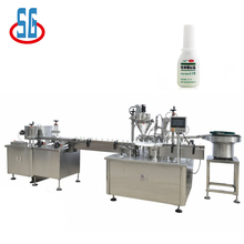 SG Automatic Argue Powder Filling And Capping Machine For Bottles Vials And Jars