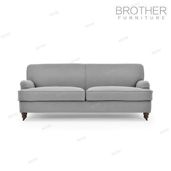Living Room Upholstery Furniture Modern Wood Frame Three Seater Fabric  Chesterfield Sofa With High Back - Buy Chesterfield Sofa,Chesterfield  Loveseat ...