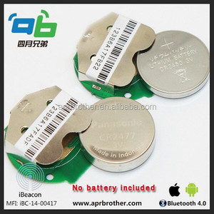 Bluetooth 4.0 Ibeacon Support IOS And Android System BLE Ibeacon with dialog 14850 for battery life 5 years