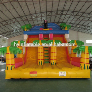 Hot sale bounce round inflatable water slide, inflatable bounce,inflatable bounce round
