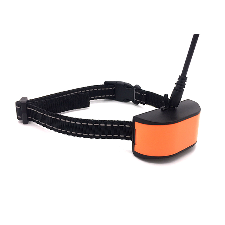 Hot Selling <strong>Orange</strong> Rechargeable Anti Bark Dog Collar TZ-DC680V Rainproof Dog No Bark Collar