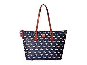Dooney Bourke NFL Zip Top Shopper Denver Top-Zip Handbags