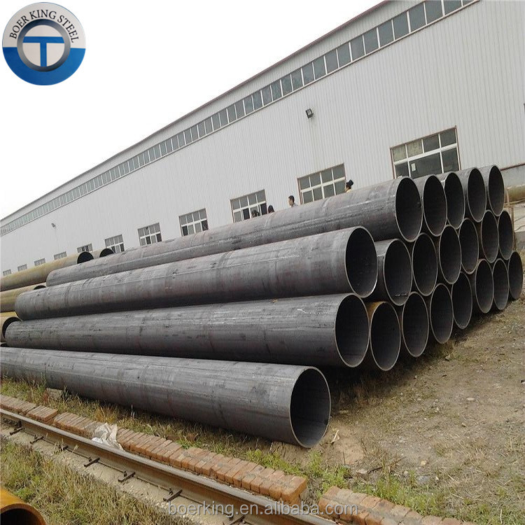 Cold Rolled API 5L GR.B 3PE, Large Diameter Welded Round Carbon Lsaw Steel Pipe for Steel Structure