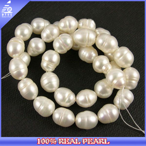 Z90 China factory price bulk wholesale rice beaded necklace borneo pearl