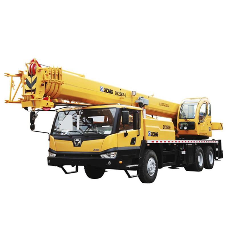 XCMG hot crane QY25K5-I 25t crane fuel consumption