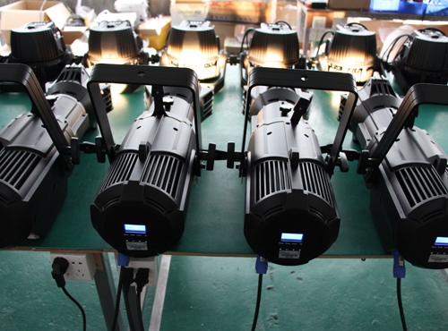 200W White LED Fixed Lens Profile leko Spot Light