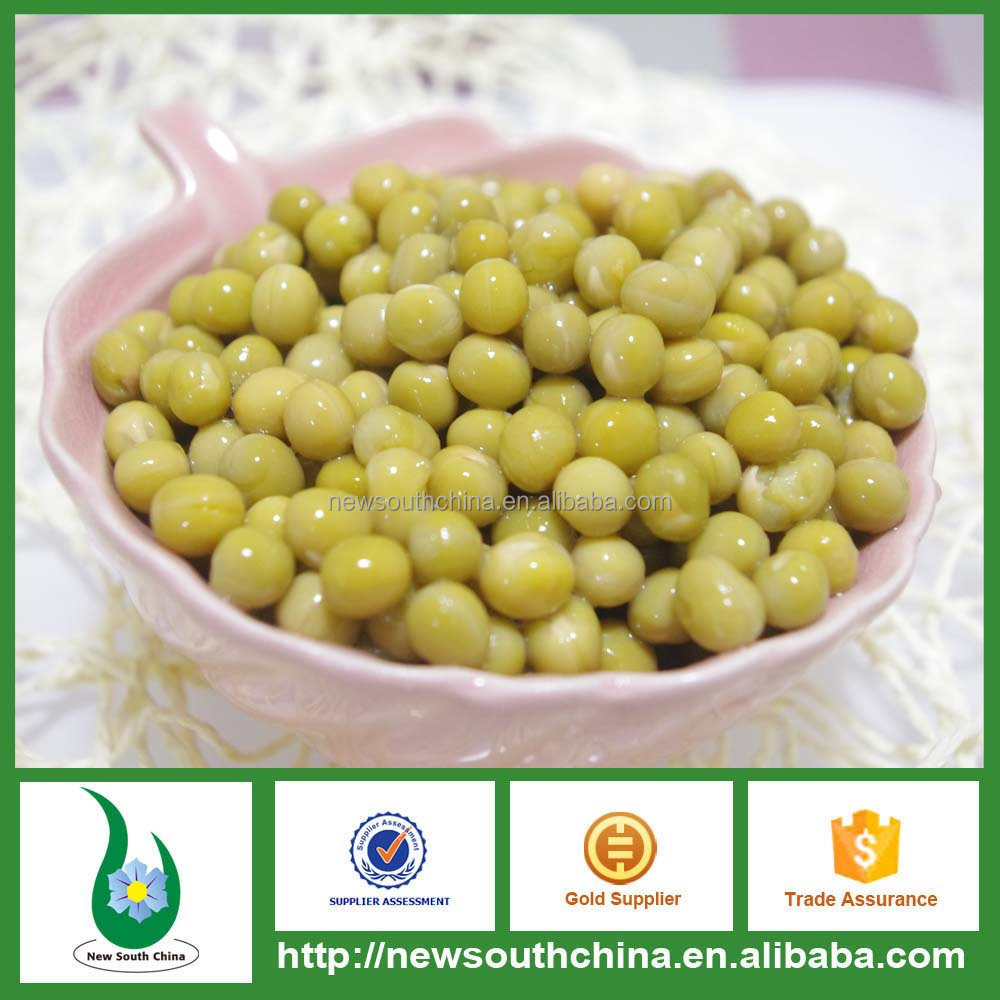 Canned vegetable green peas 400g