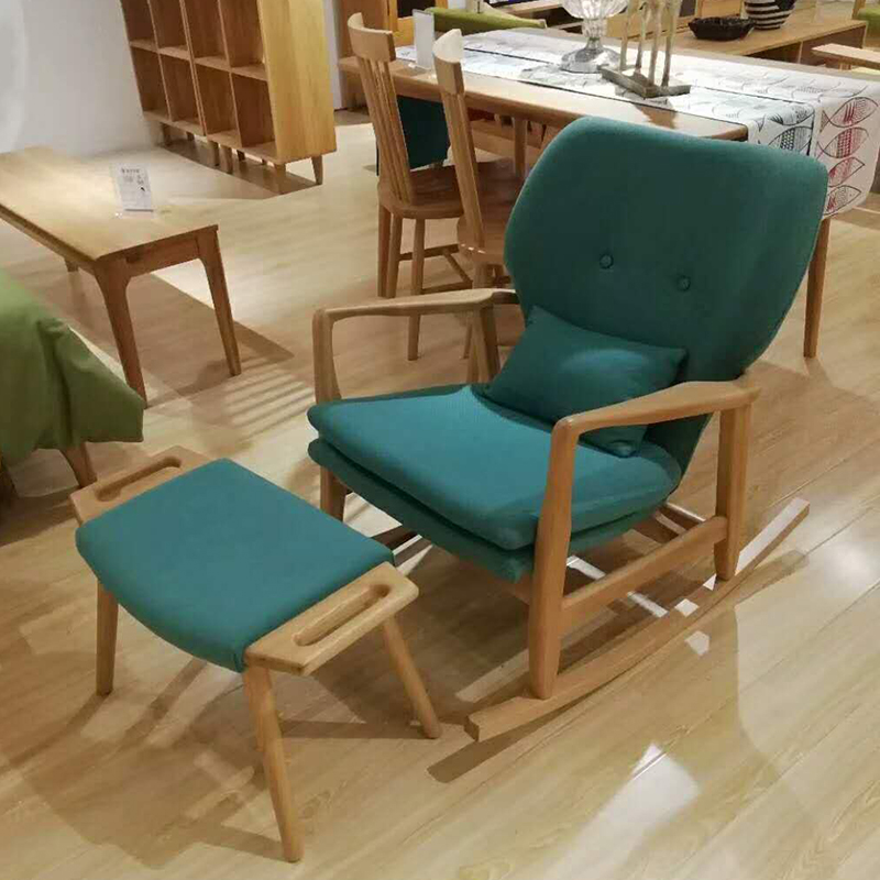 Living room furniture leisure chairs wood rocking chair
