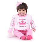 Realistic Vinyl Reborn Toddler Babe Silicone Dolls For Kids