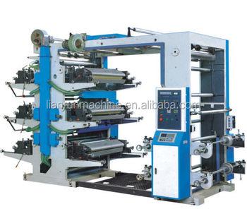 Lr-6600 Automatic Six Color Flex Printing Machine Price In China - Buy Flex  Printing Machine Price In China,Six Color Printing Machine,Automatic Flex