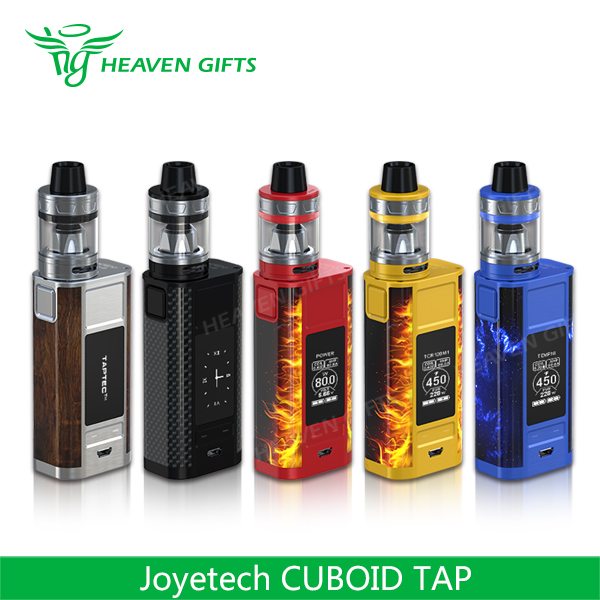 New In Stock!!! 4ml 228W Joyetech CUBOID TAP electrinic cigarette