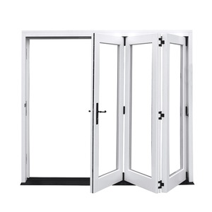 Lower price Laminated Glass pretty plastic pvc folding door
