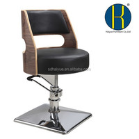 HY3022 Factory salon chair/ salon chair suppliers footrest hairdressing haircut chair / wholesale beauty salon furniture