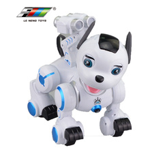 2018 k10 rc remote control electronic intelligent robot dog toy with walking and dancing