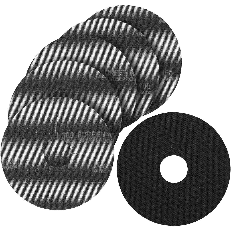 PORTER-CABLE 79180-5 180 Grit Hook & Loop Drywall Sander Pad & Discs (5-Pack)