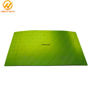 Road Safety Products Plastic Pedestrian Bridge / Trench Cover
