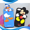 Phone protector: 3D animal shape mobile phone kickstand case
