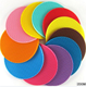 soft round silicone cup mat coaster cushion for coffee cup or different kinds of plate or dishes