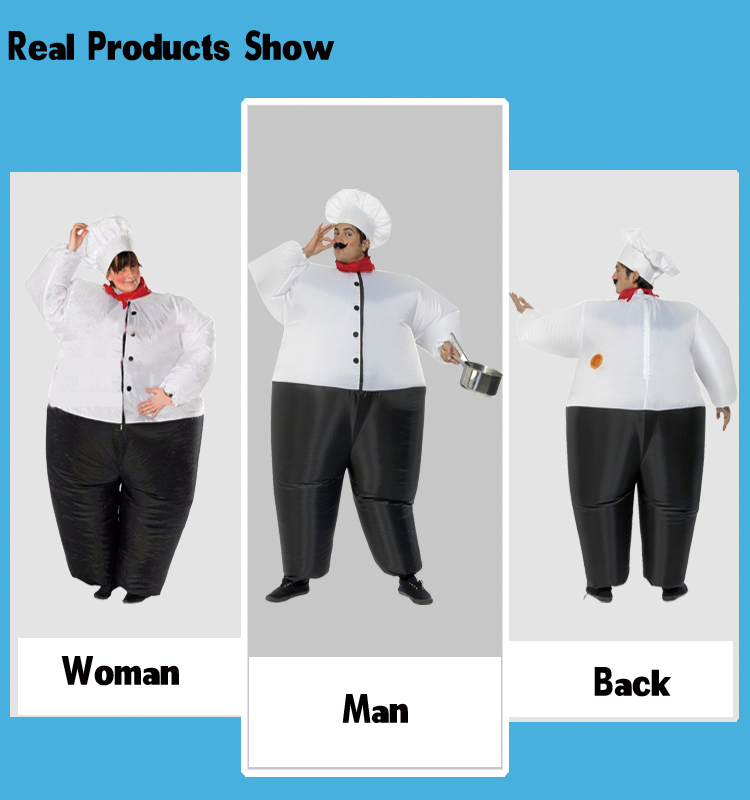 d4b3b1de17846 Christmas new year adult fat italian pizza chef dance costume For man woman  south park Halloween