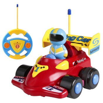 Cartoon Remote Control Car Racer Toys For Toddlersbirthday Gift Present For 3 Year Olds Boys Girls Kids Buy Cartoon Remote Control Car Racer