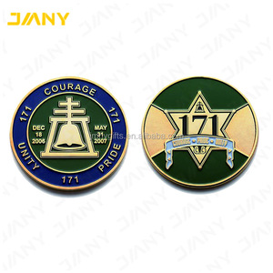 Custom Dual Sided Standard Edge Metal Commemorative Coins