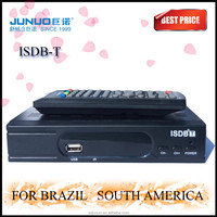 2016 OEM Best full HD ISDB-T tv box for brazil mpeg4 set top box tv terrestrial receiver digital tv cable