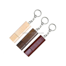 Stopper USB drive, Promotion USB gift wood key with keyring, Wood-encased drive comes in a wooden case sticks pens flash driver