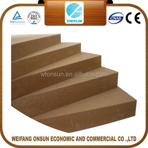 the cheapest top quality melamine mdf borade 25mm to west africa for sale