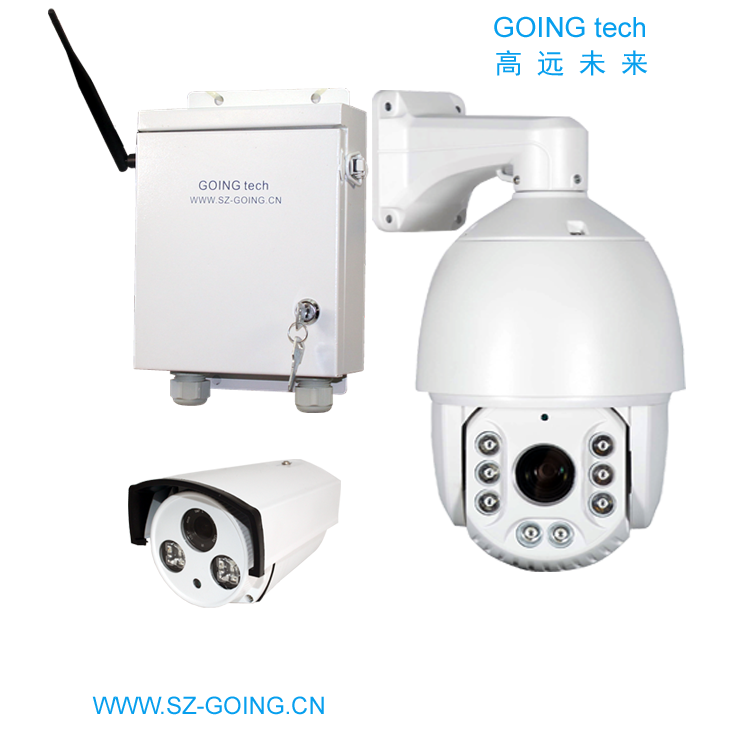 GOING tech outdoor wireless ptz ip camera 20X 36X 40X optical zoom with 1T harddisk