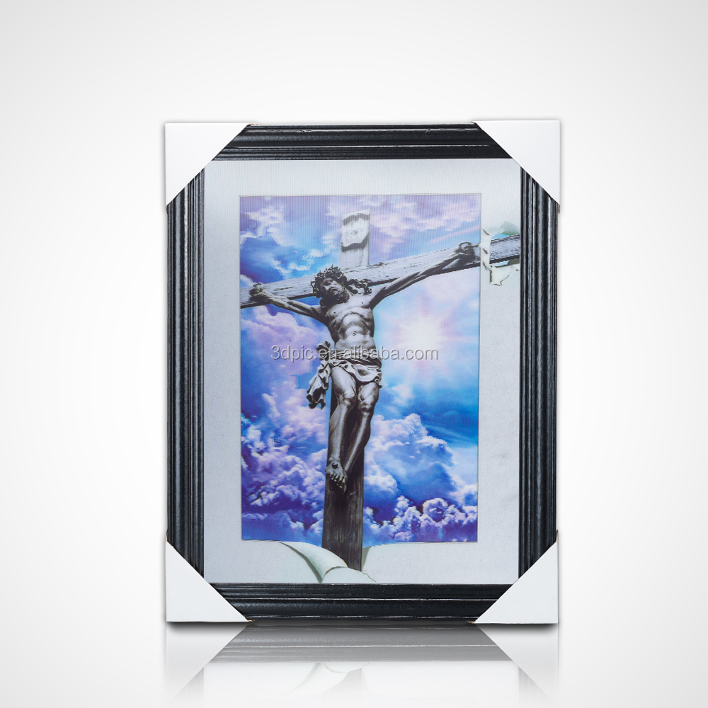 Custom picture frame lenticular prints 3d posters