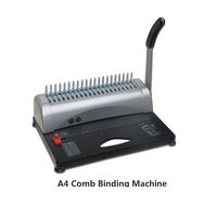 manual binding machine for booklet or any paper (with 50pcs aprons free)