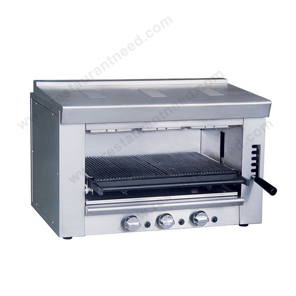 Humanized design Commercial Kitchen Salamander Stainless Steel ...