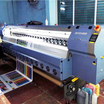 583301846 3.2M Large Format Printing Machine Allwin Konica 512i Solvent Printer