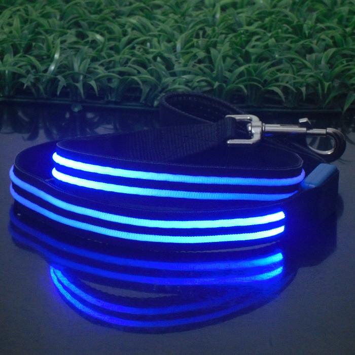 New Arrival Wholesale Dog Leash Lead/ Pet Collar Flashing LED Lighted Dog Lead,Pet Leashes