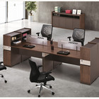 Furniture Office Computer Desk Workstation Cheap Modular Furniture Office Staff Computer Work Desk Workstation With File Cabinet 4 Person Co Working Workspace